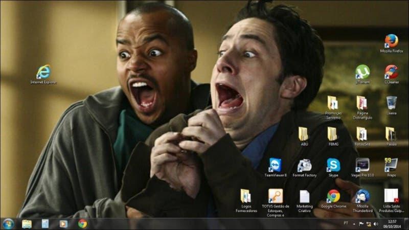 [FOTOS] Los mejores fondos de pantalla que se burlan de Internet Explorer