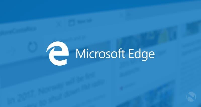 Microsoft Edge es el nuevo navegador de Microsoft