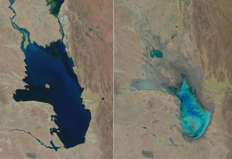 [FOTO] Poopó: El segundo lago más grande de Bolivia se convirtió en un desierto
