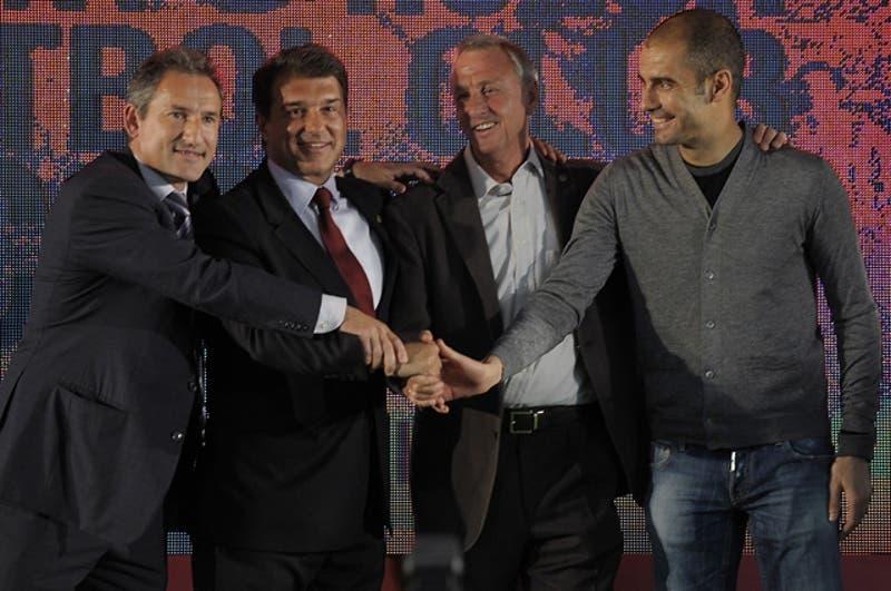 """Josep Guardiola: """"No sabía nada de fútbol antes de conocer a Cruyff"""""""