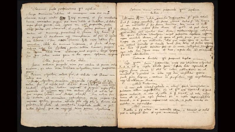 Estos manuscritos son históricos
