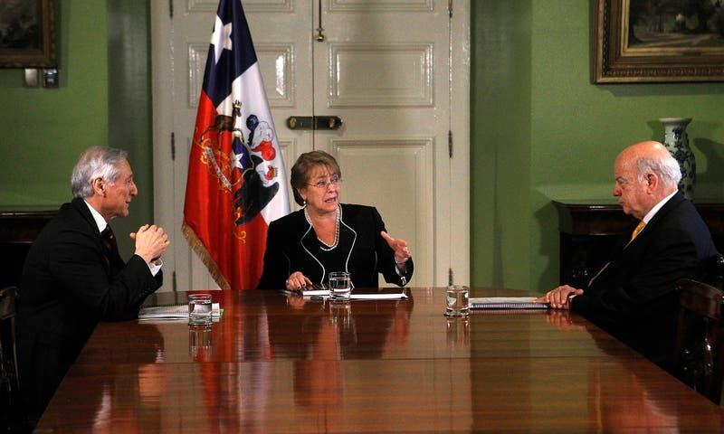 Bachelet recibió texto de contramemoria