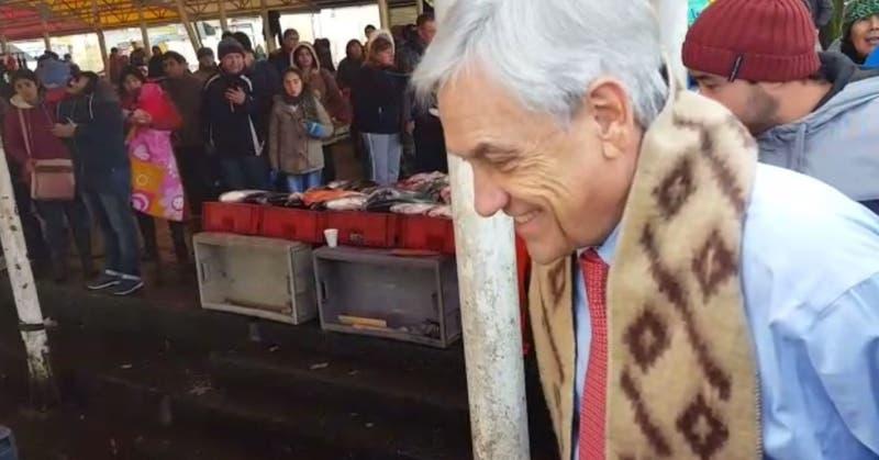 Piñera en Valdivia