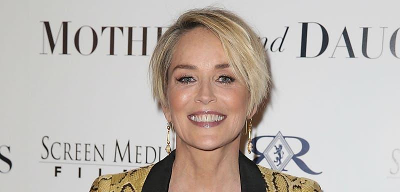 Sharon Stone se mantiene espectacular a sus 58 años