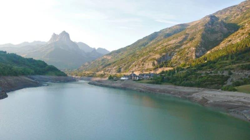 En este paisaje idílico hay un gran contaminante.