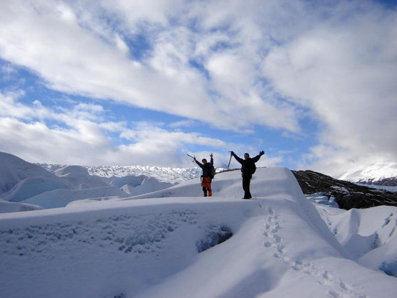 Trekking por el Glaciar Grey.