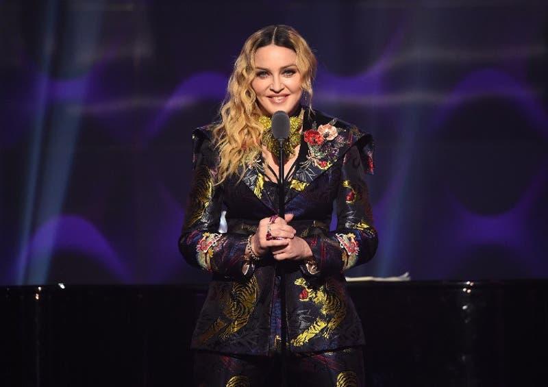 """El poderoso discurso de Madonna tras ganar el premio """"Mujer del Año"""" de Billboard."""