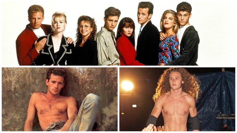 """Luke Perry destacó en """"Beverly Hills 90210"""" y ahora su hijo Jack destaca en la lucha libre"""