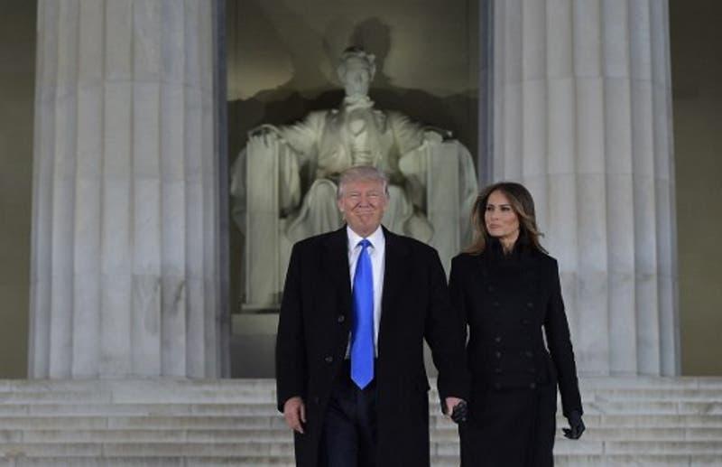 Trump durante su discurso en el Lincoln Center