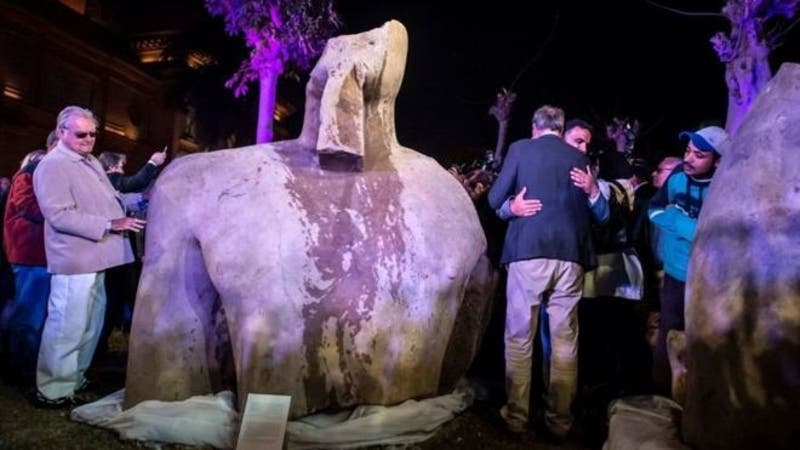 """Al principio casi todos pensaban que se trataba de Ramses """"el grande""""."""