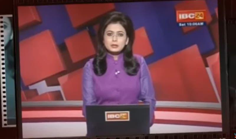 Conductora de noticias se entera en vivo del fallecimiento de su marido