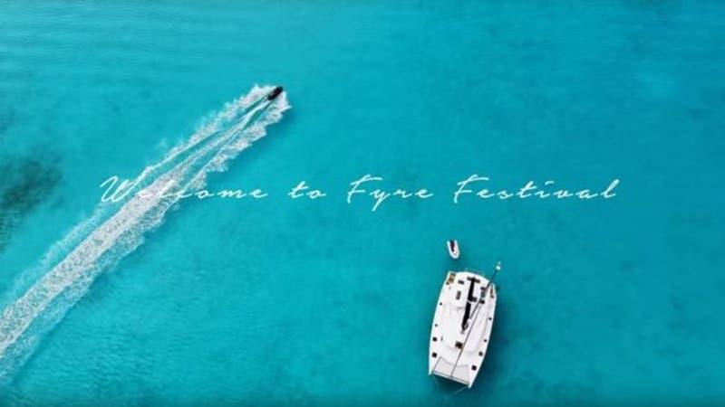 Además de música, para el Fyre Festival se anunciaban fiestas en yates en un mar turquesa.