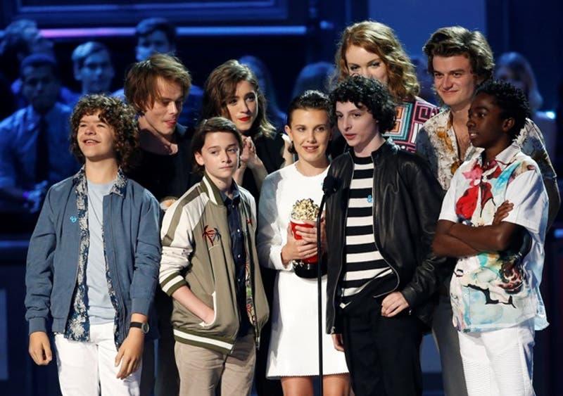 """Stranger things"" en los MTV Movie and TV Awards"