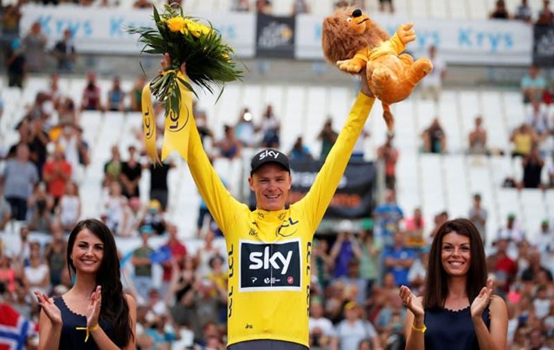 Froome se asegura su cuarto Tour de Francia tras crono de Marsella y Urán será segundo