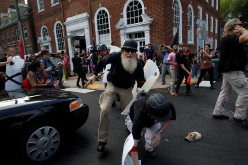 Protestas raciales en Charlottesville, Virginia, Estados Unidos