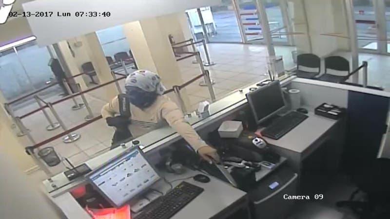 Ingeniero asalta banco