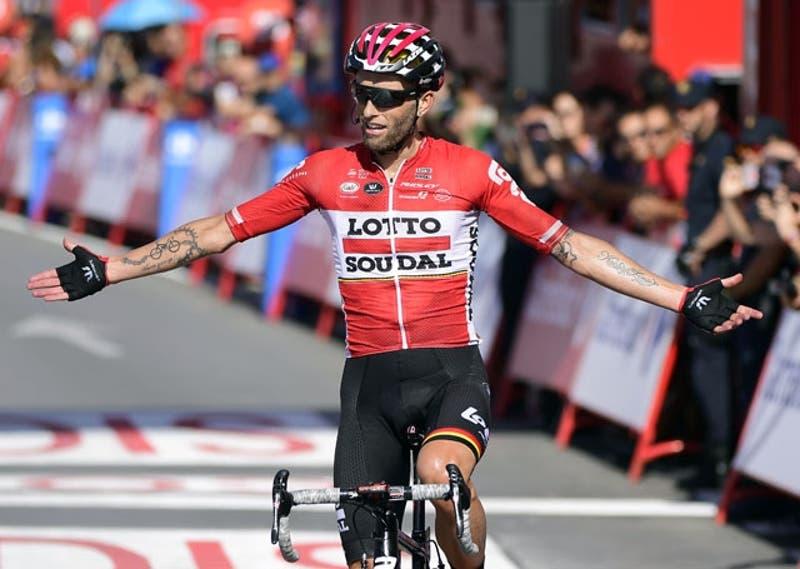 Polaco Tomasz Marczynski gana la 12ª etapa de la Vuelta y Froome sigue líder