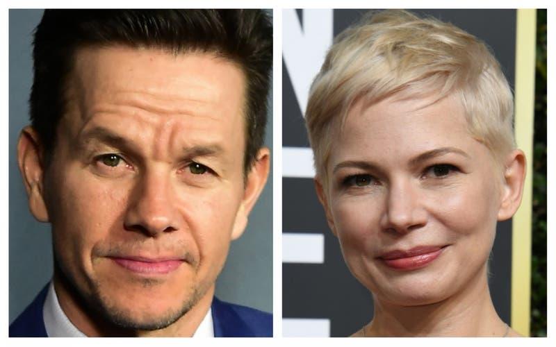 Mark Wahlberg y Michelle Williams