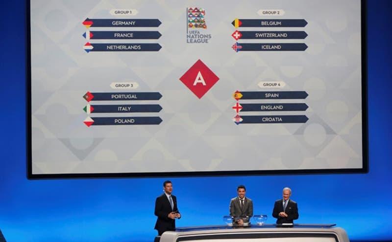 """Alemania, Francia y Holanda integran """"grupo de la muerte"""" en Liga de Naciones de la UEFA"""