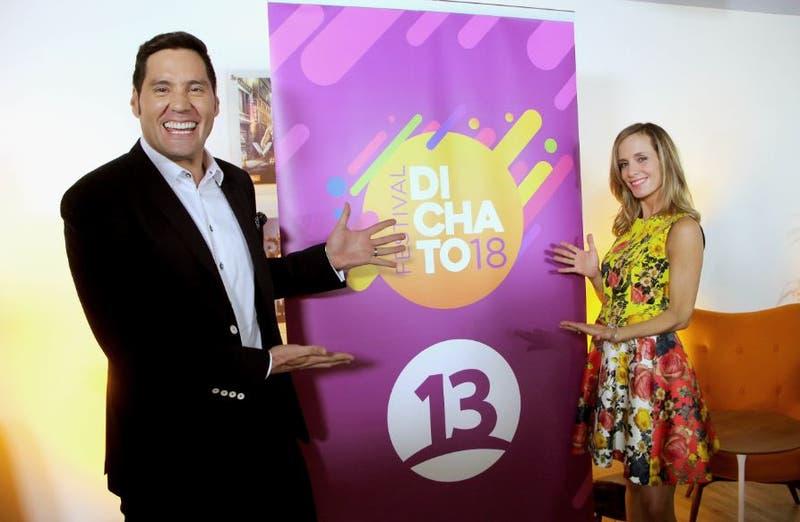 Pancho Saavedra y Diana Bolocco animan Diichato 2018