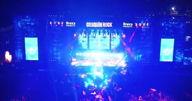 Cosquín Rock Chile será el 6 de octubre en Movistar Arena