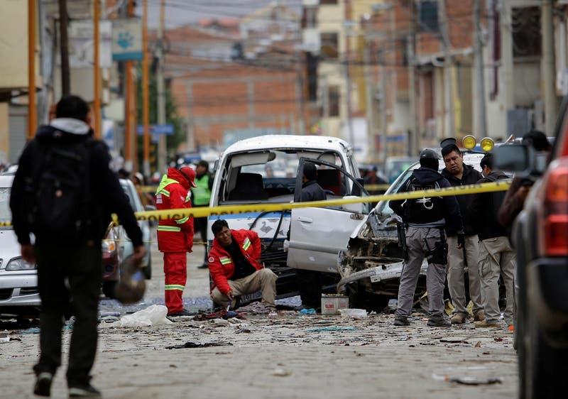 """Explosión en Bolivia el martes fue un """"atentado"""", según autoridades"""