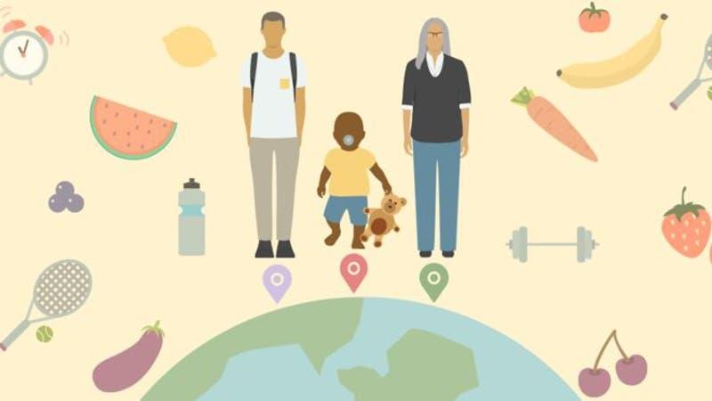 Calcula cuál es tu esperanza de vida según el país del que provienes