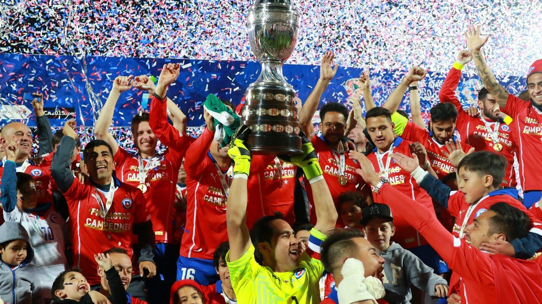 """Generación Dorada, Copa América 2015"""": el 13 revivirá el inolvidable título  de La Roja   T13"""