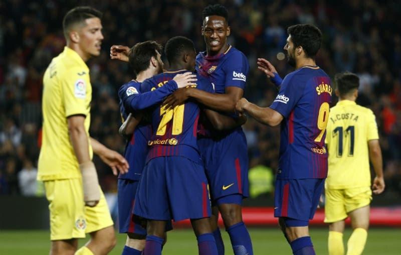[VIDEO] La curiosa estrategia de Yerry Mina para acercarse a Messi y Suárez en FC Barcelona