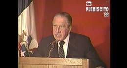 [VIDEO] Pinochet: Plebiscito ha servido para demostrar el grado de lealtad de alguna gente
