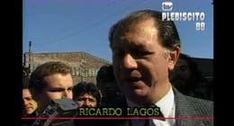 [VIDEO] Así fue la votación de Ricardo Lagos para el Plebiscito 88