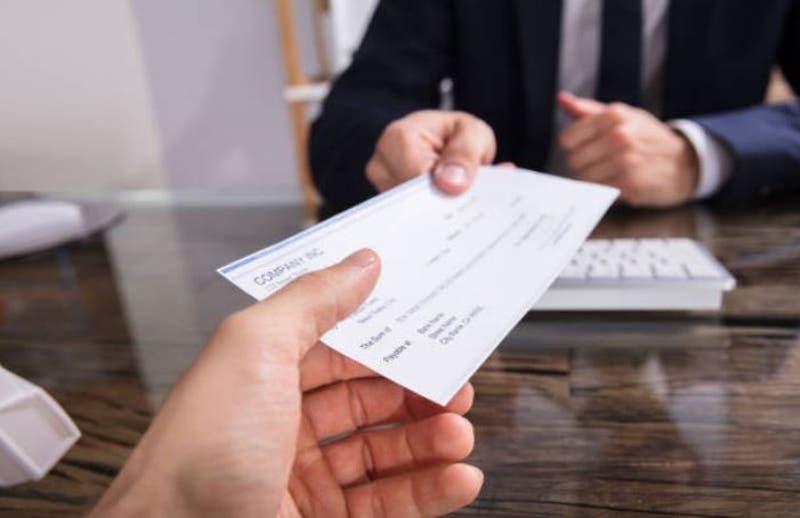 Cheque de indemnización