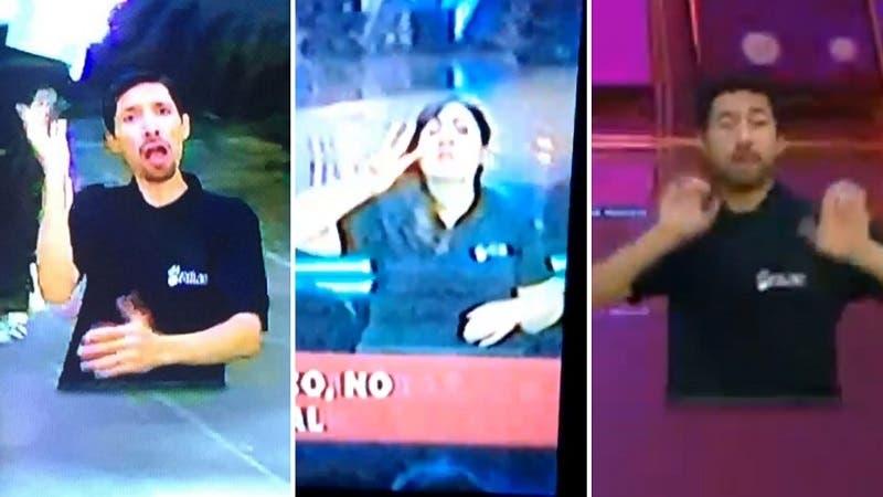 [VIDEO] Intérpretes de lengua de señas volvieron a ser protagonistas en la Teletón