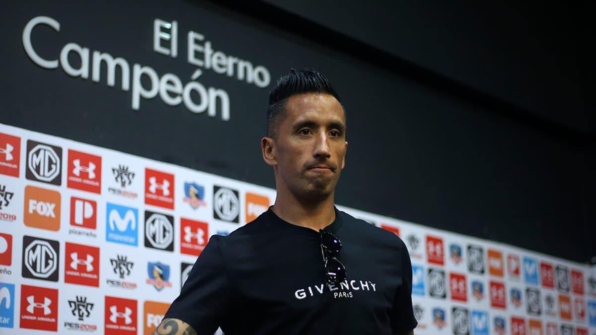 VIDEO] Es oficial: Lucas Barrios y Gonzalo Fierro se van de Colo Colo | T13