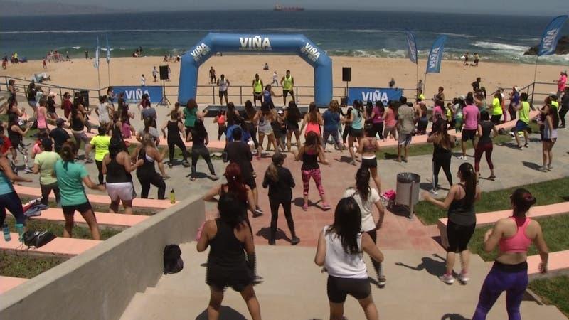 [VIDEO] Inauguran playa del deporte 2019