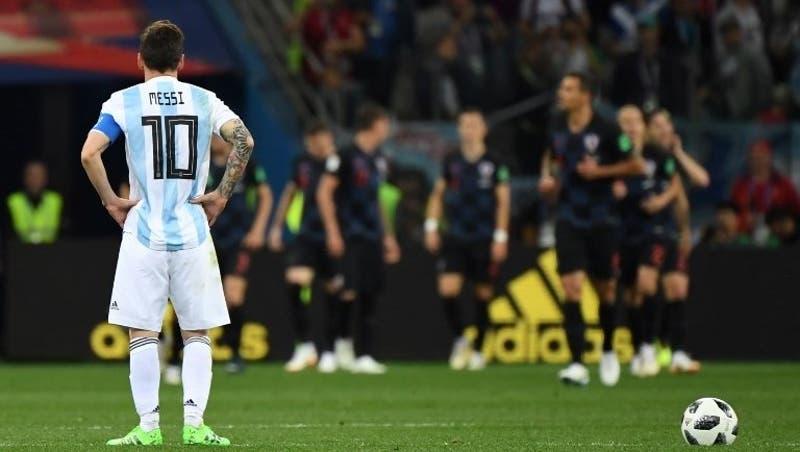 """Revelan el """"agradecimiento"""" de Messi a Croacia tras enfrentar a Islandia en Rusia 2018"""