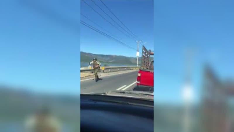 [VIDEO] Enfrentamiento a balazos en Hualqui