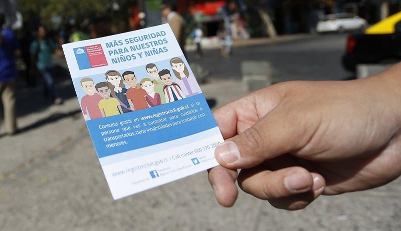 Más de 7 mil personas no pueden trabajar con menores por delitos sexuales