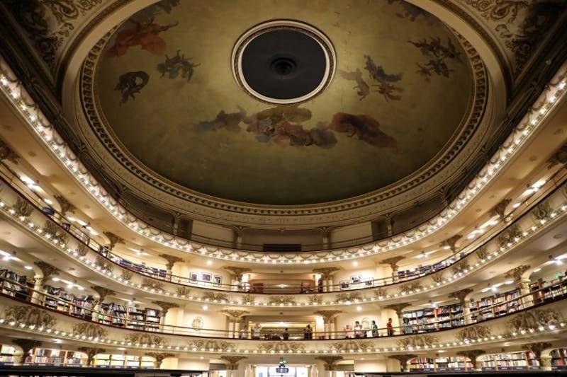 Ateneo Grand Splendid la librería más hermosa del mundo