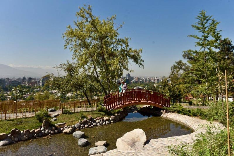 Instalarán señalética en Jardín Japonés para educar a visitantes