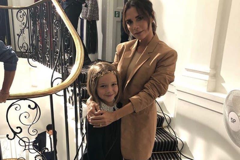 El tratamiento facial de la pequeña hija de Victoria Beckham que causa polémica en redes sociales