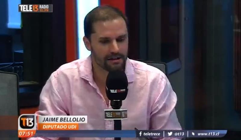 Jaime Bellolio en Tele13 Radio por Admisión Justa