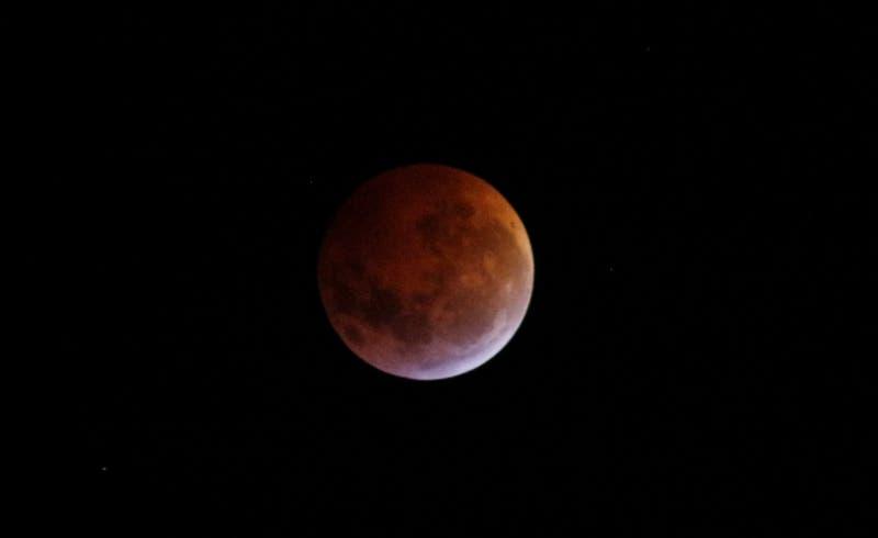 """Técnica que utilizaron para inmortalizar la """"Superluna de sangre"""""""