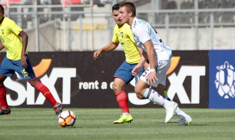 [Minuto a Minuto] Ecuador está venciendo a Argentina por el Grupo B del Sudamericano Sub 20