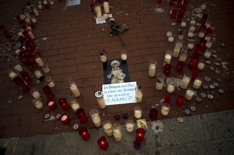 [FOTOS] Realizan funeral de Julen Roselló, niño que murió tras caer en un pozo en España