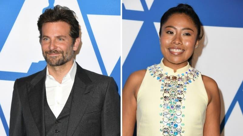 Bradley Cooper le pide un interesante favor a la actriz Yalitza Aparicio