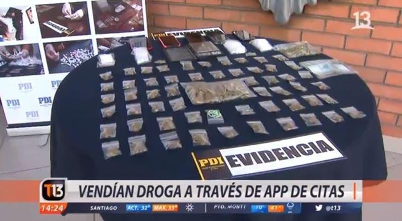 [VIDEO] Detienen a sujetos que vendían droga a través de app de citas
