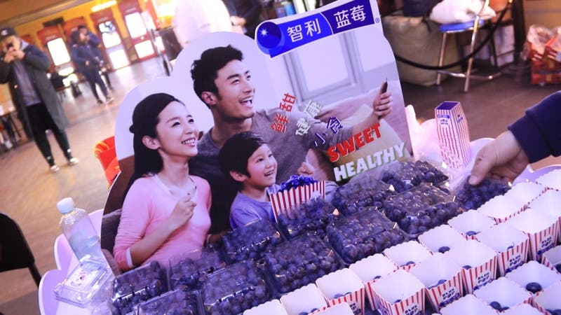 """[VIDEO] Cambian """"Popcorn"""" por arándanos en China"""