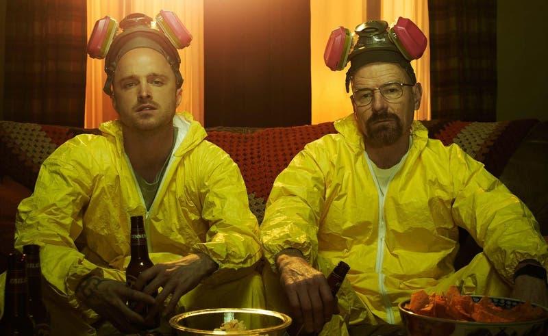 """[FOTOS] Filtran imágenes de película de """"Breaking Bad"""""""