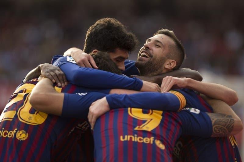 La formación del Barcelona para el clásico ante el Real Madrid